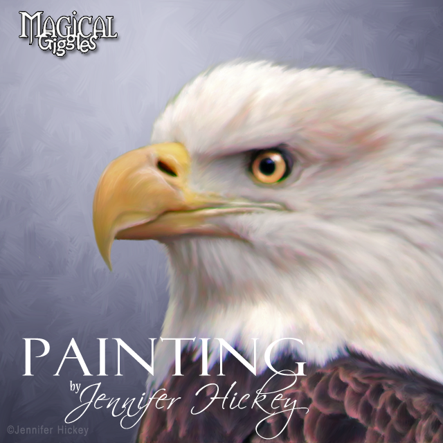 Instagram Painting Eagle
