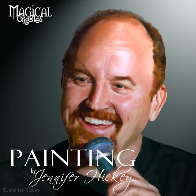 Instagram Painting LouieCK