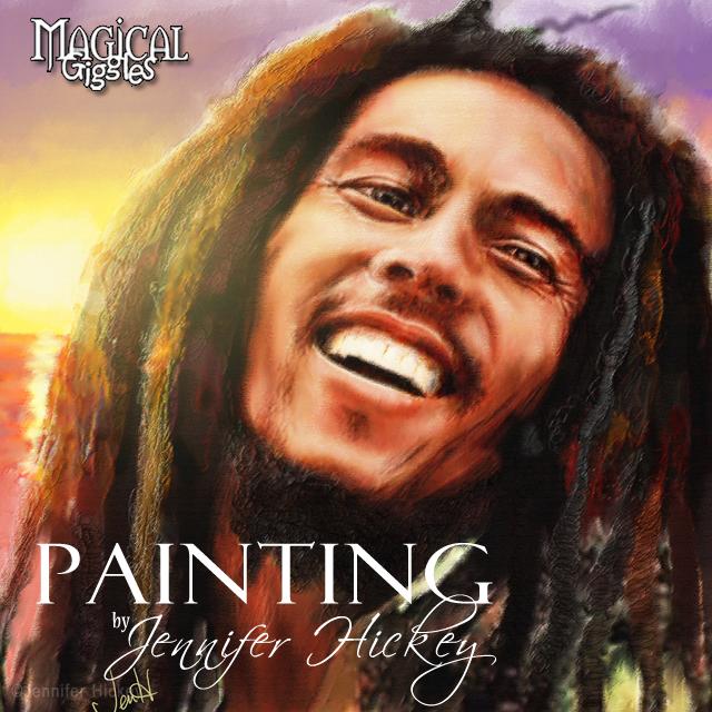 Instagram PaintingJoyfulMarley