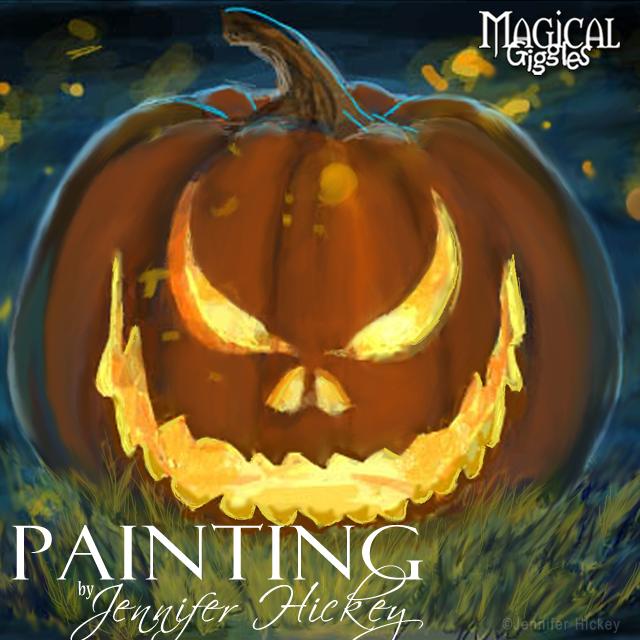 Instagram PaintingPumpkinfire
