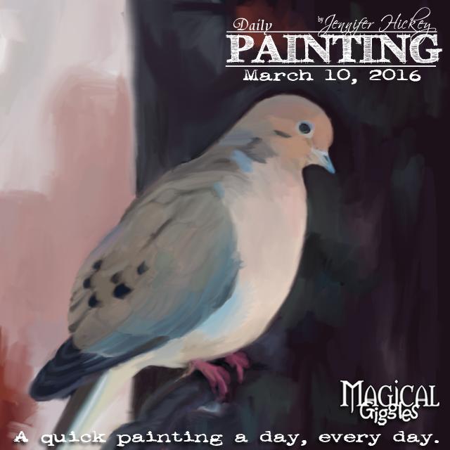 Instagram PaintingADayMarch10b