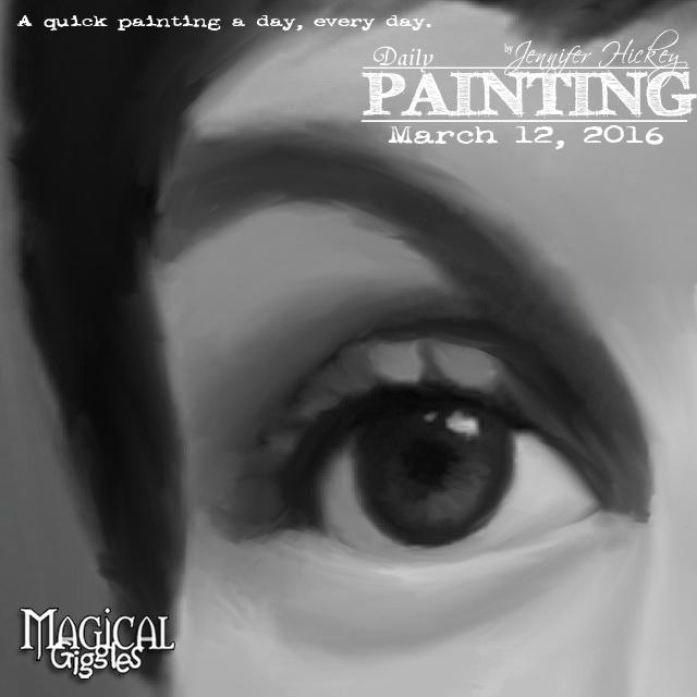 Instagram PaintingADayMarch12