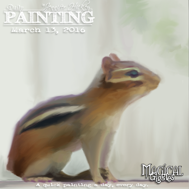 Instagram PaintingADayMarch13
