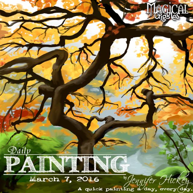 Instagram PaintingADayMarch7