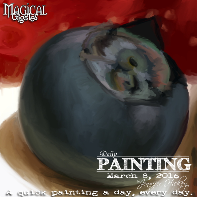 Instagram PaintingADayMarch8