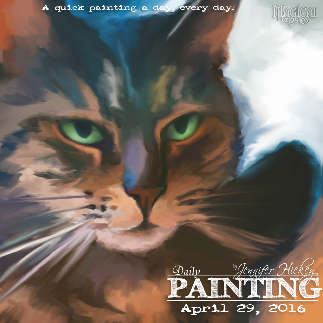 Instagram PaintingADay April29