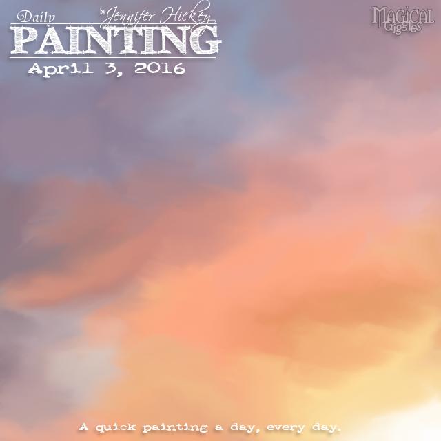 Instagram PaintingADayApril3