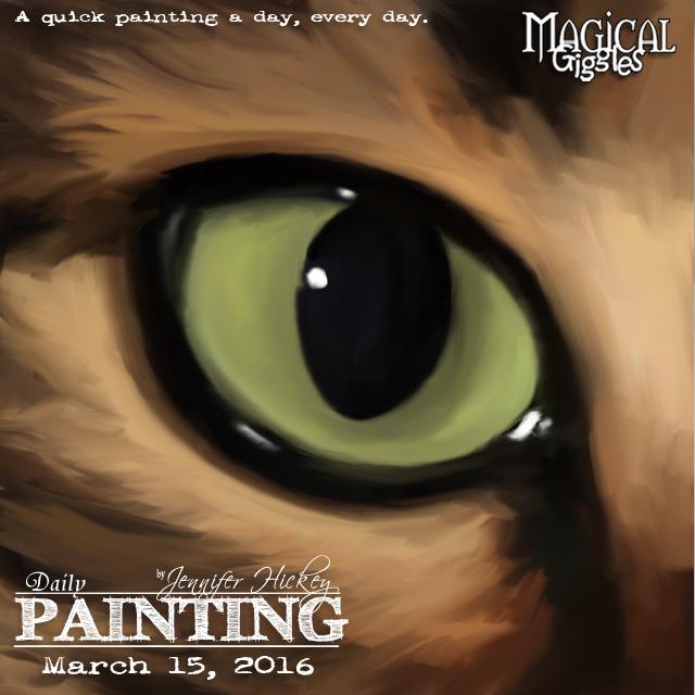 Instagram PaintingADayMarch15
