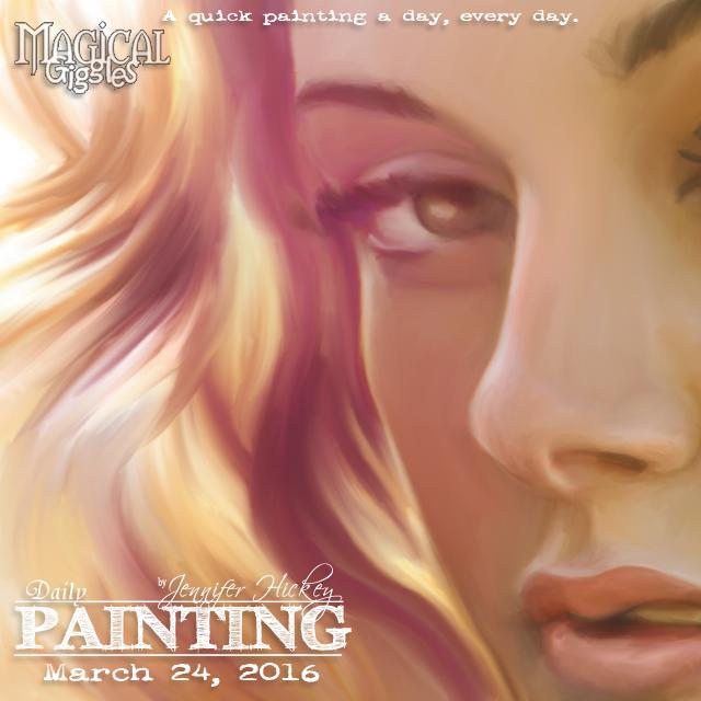 Instagram PaintingADayMarch24
