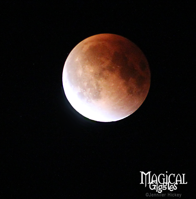 """September 2015 """"Supermoon"""" Eclipse: The Blood Moon."""